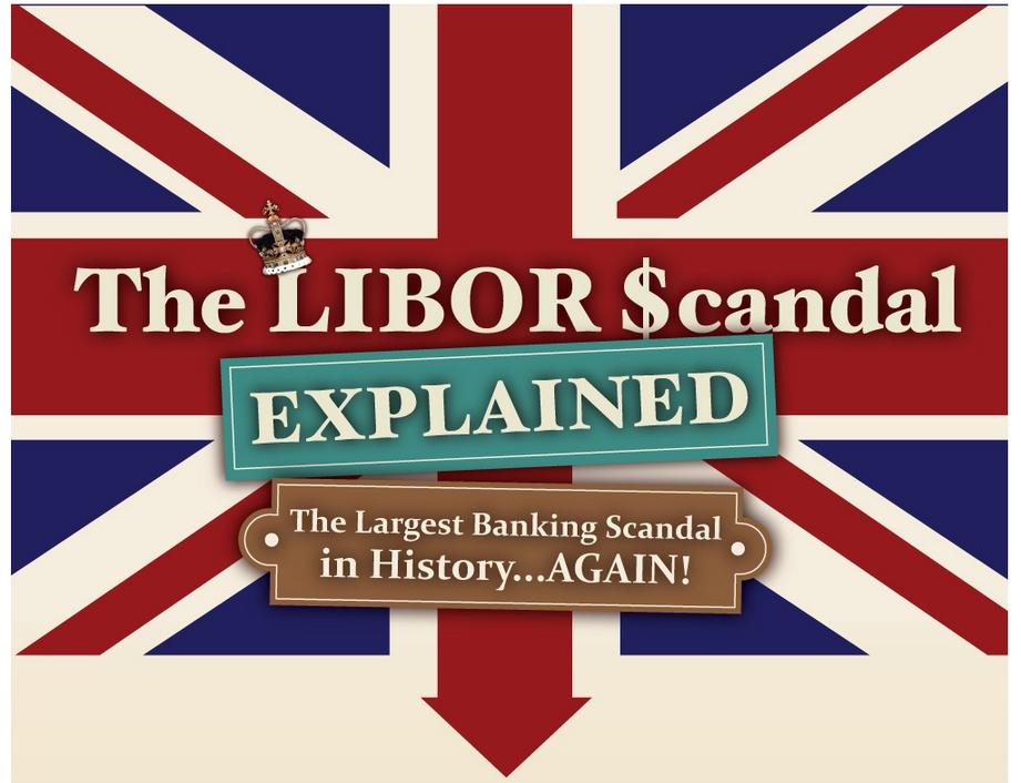 LIBOR-Skandal - Größtes Wirtschaftsverbrechen aller Zeiten (Infografik)