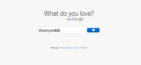 Anonymität auf Google Plus